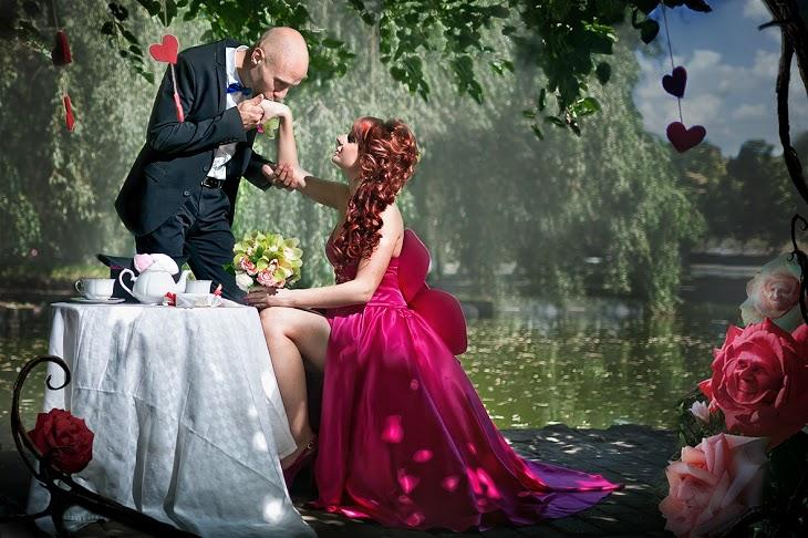 Свадебная церемония не обходится без хлопот